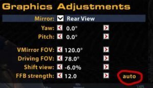 iRacing Forcefeedback Auto Settings